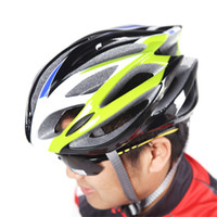 Wholesale 2014 NEW Vents Ultralight Sports Mountain Road Bike Bicycle Cycling Men Helmet with Lining Pad Adult Green Blue g H10766