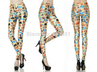 Foot Cover Women Leggings SEXY Fashion 2014 New Fitness Leggins Galaxy Digital Printing Seabed Fish Leggings For Women Leggings Drop Shipping S117-440