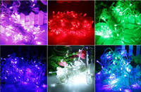 Wholesale Multicolour LED String Light M V V Decoration Light for Christmas Party Wedding Fedex DHL