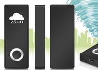Wholesale Mini Wi Fi Wireless U Disk Zsun WiFi Pen Drive USB Flash Drive for Tablet iPad iPhone Black usb flash drive SD111 GB Newest