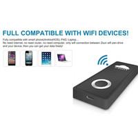 Wholesale Mini WiFi USB Pen Drive Wireless U Disk Zsun USB Flash Drive for Tablet PC iPad iPhone Android Windows PC SD111 GB Best price