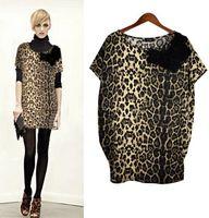 Mini hippie clothing - flannel leopard xxl big size shirt sundress sleeveless sexo clothing goods innovative items ladies mini loose hippie dresses