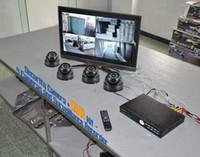 Wholesale 2pcs quot TVL Array Lines Sharp Sony CCD Sensor Module CCTV Dome Cameras Ch Security Surveillance System With H Network DVR