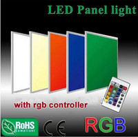 Wholesale CE RoHS ETL approved mm W SMD5050 LED RGB Panel Lights AC100 V Lamp indoor lighting with driver and RGB controller