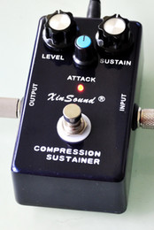 Wholesale Vintage Sound CS Dyna Compressor Sustainer Punchy Attack Quality Build True Bypass by XinSound