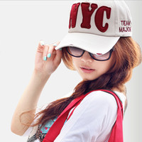 Wholesale New Fashion Men s and Women s Cotton Casual Polo Player Hat Baseball Caps Golf Ball Sports Cap Adjustable Size