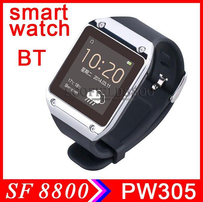 pw305 1.54-inch screen mtk6250 bluetooth smart watch phone ...
