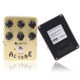 Wholesale JOYO JF AC Tone Amp Simulator Guitar Effect Pedal Guitarra Parts True Bypass for Musical Instrument Electronic New I278