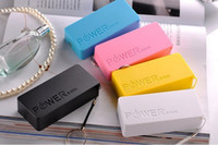 Power Bank Universal  Newest 5600mAh USB Power Bank Portable External Battery Charger for Samsung iphone 5 5s 4 4s more cell hone