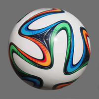 Wholesale World cup official ball BRAZUCA football seamless PU Granules Size soocer ball