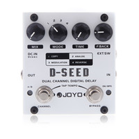 parts for - Electronic New JOYO D SEED Dual Channel Digital Delay Violao Guitar Effect Pedal with Four Modes Musical Instrument Parts I284