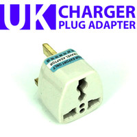 Wholesale NEW UK Britain AC Power Plug Travel Adapter charger for the United Kingdom