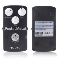 Wholesale JOYO JF Electric Violao Guitar Distortion Effect Pedal Pocket Metal Drive Mid Tone True Bypass Musical Instrument Parts I285
