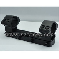 Wholesale LENGTH MM New mm Double Ring Rifle Scope Mount with mm weaver rail