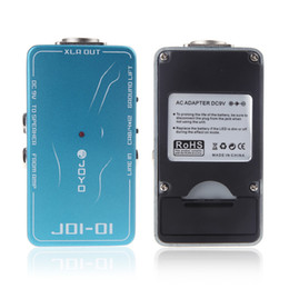 Wholesale Electronic JOYO JDI DI Box Passive Direct Box Amp Simulation Violao Guitarra Guitar Effect Pedal for Musical Instrument I283