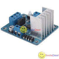 Cheap [SmileDeal] L298N Dual Stepper Servo Motor Driver Controller Board Module 5V For Robot Smart Car Save up to 50%