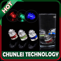 Wholesale Diamond Style Deep Sea Drop Underwater Submersible Fishing Squid Bait Lure LED Flashing Strobe Light