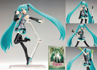 Multicolor PVC other Wholesale - Free Shipping figma sexy anime action toy figure Hatsune Miku MIKU hand movable doll model
