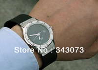 Luxury Complete Calendar china (mainland) Luxury mens quartz watches black dial GENEVA men sports watch free fashion brand swiss stainless rubber strap dive wristwatches