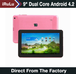 Wholesale Sale quot Inch Dual Core Android Tablet PC Actions Dual Camera MB GB Capacitive Touch Screen GHZ WIFI quot iRuLu epad Tablet PC