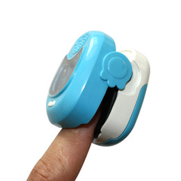 Wholesale Pediatric Fingertip Pulse Oximeter SPO2 Pulse Rate Oxygen Monitor OLED Display For Kid years old baby oximeter AH QB