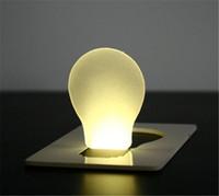 Wholesale Mini LED Night Light LED Credit Card Light Novelty Portable Light LED Portable Pocket Card Light Wallet Light Credit Card Light Easy Carry
