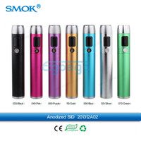Wholesale 100 Original Smok SID VV VW MOD Smok ACE VV VW Mod with LCD Display Variable Voltage Smoktech SID Mod Fit RBC GBC EBC vivi nova Atomizer