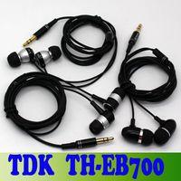 For Apple iPhone   Summer New TDK TH-EB600 700 800 Mini Portable In Ear Bass Earphone Headphone For iPhone 5 5S Galaxy S3 S4 Note 3 Black Earphones churchill