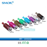 Wholesale 100 Original Smok GBC atomizer Clearomizer Tank ml Huge Vapor E cigarettes bottom coil heating GBC tank Fit for Smoktech SID Mod