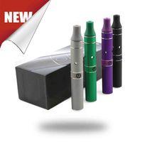 Black Metal  2014 Ago G5 Vaporizer Dry herb Wax Atomizer AGO Vaporizer Portable Vape Pen Full Kit Wholesale Min Style Min Size AGO DHL Free Shipping