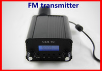 Wholesale 7W stereo PLL FM transmitter broadcast radio station