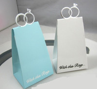 Cheap Favor Boxes Ring Candy Boxes Best Ivory Paper Wedding Gift Boxes