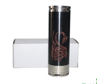 Black Metal 26650 Black SS copper stingray mod 26650 mod 4200mah huge capacity mechanical mod huge vapor newest black mod rebuildable 26650 mod battery tube
