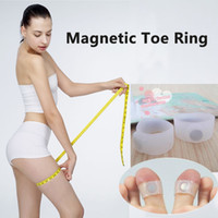 Wholesale 1pair Keep Fit Health Slimming Weight Loss Magnetic Toe Ring