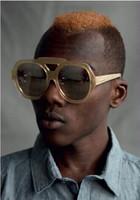 Cheap new Sunglasses Arrow sunglasses sunglasses for men and women strong personality big box retro sunglasses
