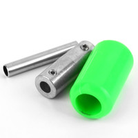 Wholesale 1pcs Green Silicone Soft Rubber Tattoo Machine Handle Gun Grip Tube Back Stem