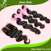 Cheap Brazilian Hair Brazilian Virgin hair Best Natural Color Body Wave Loose Wave