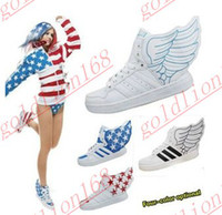 Wholesale Hot Sale New Fashion wings shoes high top sneakers skate board shoes for men and women