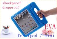 Wholesale Creative Handle Style Shockproof Protective Case for Ipad ipad air ipad mini retina EVA Anti skid Protective Sleeve handba