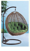 Wholesale Furniture hammock and double swing basket hanging chair cradle outdoor indoor hanging basket fashion