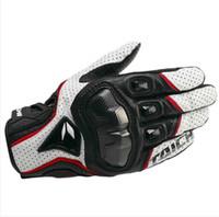 al por mayor rs guantes de taichi-Los guantes de cuero 2015 del modelo nuevo armado de malla del guante RS-TAICHI RST390 Moto que compite con guantes de moto de motocross moto guantes de fibra de carbono guante