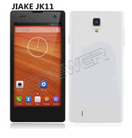 "English Android with Bluetooth New JIAKE JK11 MTK6582 Quad Core 1.3GHz 5.0"" IPS QHD Capacitive Touch Screen Android 4.2.2 OS 1GB+4GB 3G GPS Smartphone White"
