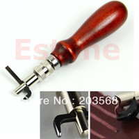 Wholesale Adjustable Leather Edge Stitching Groover Leathercraft Groove Gouge DIY Tool mm