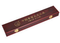 Ear Candle Ear Care  Tianyi imitation mahogany professional tools box clip band rubber band