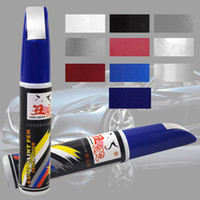 Plastic 12 ml 35 g 5 pcs Free Shipping Colorful 12ml Professional Car Scratch Remover Repair Touch Up Paint Fix Pen