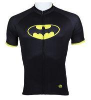 Anti Bacterial batman bicycle bike - 2014 Aliensports New men s Cycling Batman Bicycle Jersey special Bike Wear in stock Size S XL