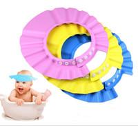 Children's Day hair washing hat - Fashion Shampoo Shield Hat Baby Child Kid Shampoo Bath Shower Wash Hair Shield Hat Cap