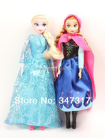 Wholesale Frozen princesses doll new cute Anna Elsa mini baby doll action figures frozen dolls toys classic toys joint movable