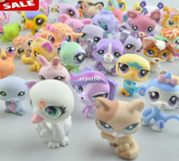 age - 20 My Littlest Pet Shop LPS Animasl Loose action Figures Collection toys gift for princess hot sell