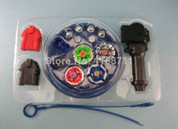 Wholesale beyblade set beyblades launchers tips bolts grip arena beyblade with arena as children gift
